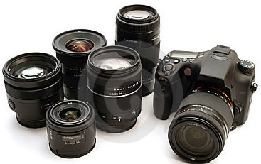 Digital Camera Lenses