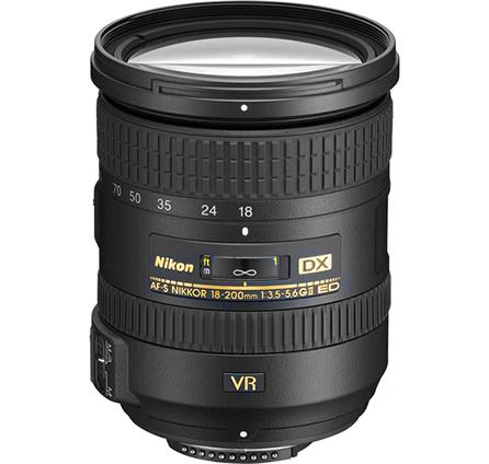 Nikon DX 18-200mm f/3.5-5.6G AF-S ED VR II