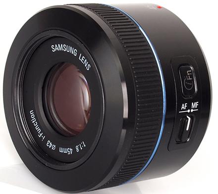 Samsung 45mm f-1.8