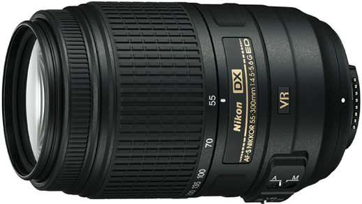 Nikon 55-300mm Nikkor Zoom Lens